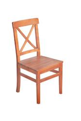 Çeşme X Sandalye - Sabit Ahşap Sandalye - Çeşme X