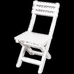 Bahçeci - Ada Sandalye Beyaz