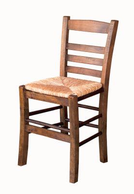 Sabit Ahşap Sandalye - Rino Hasır