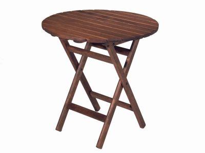 Katlanır Ahşap Masa - 60 cm. Buzludja