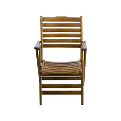 Madrid Sandalye - Katlanabilir Ahşap Sandalye - Madrid