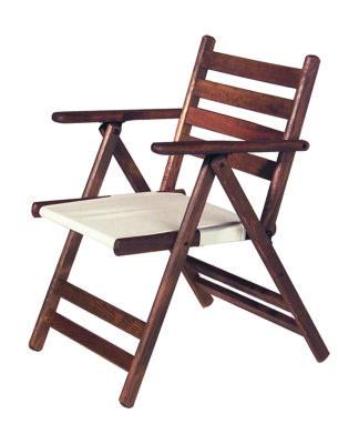 Katlanır Ahşap Sandalye - Atina Mix