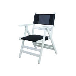 Bahçeci - Atina sandalye PVC (beyaz)