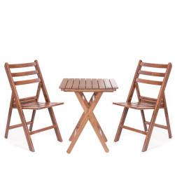 Katlanabilir Ahşap Sandalye - İspanya Big - Thumbnail