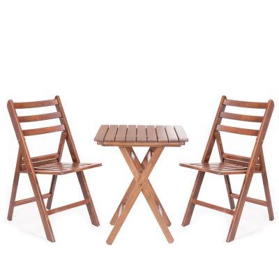 Katlanabilir Ahşap Sandalye - İspanya Big