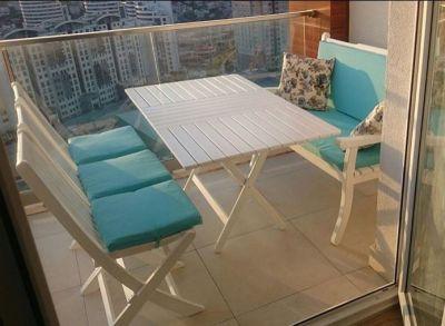 Acropol sandalye (beyaz)