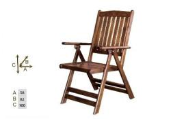 Olimpiya Sandalye - Katlanabilir Ahşap Sandalye -Olimpiya