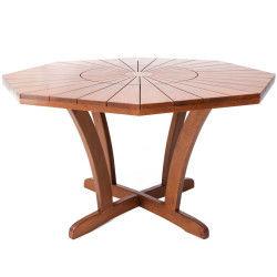 Ahşap Bahçe Masası - Narcis 130 cm.